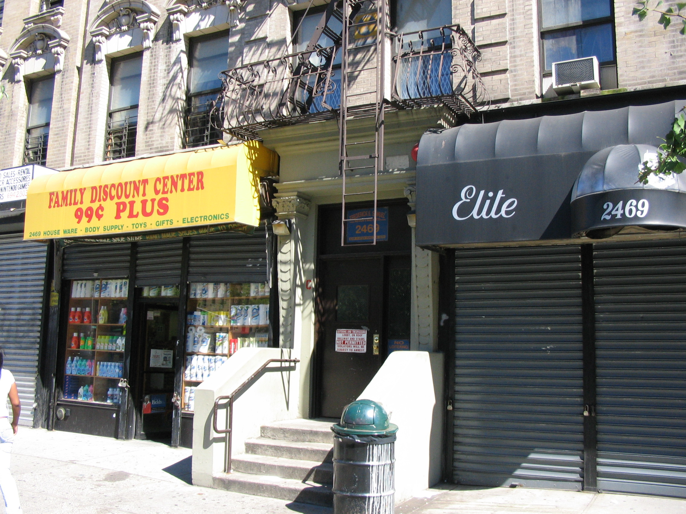 Commercial Space For Rent at 2469 Adam Clayton Powell Jr. Blvd
